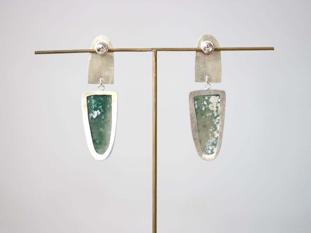 Ocean Jasper Earrings : archive