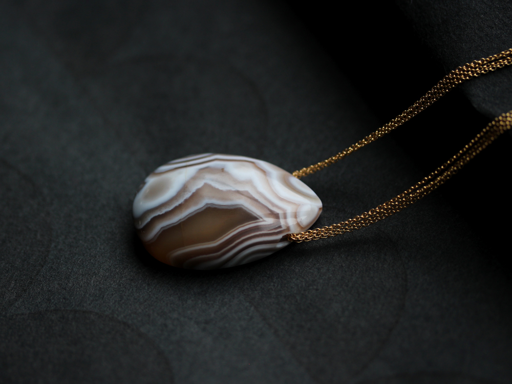 Botswana Agate Necklace : archive