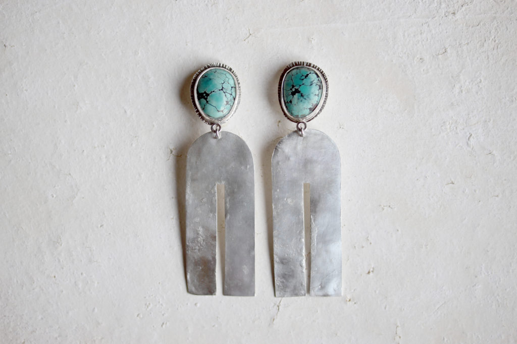 Turquoise Clip Earrings : archive