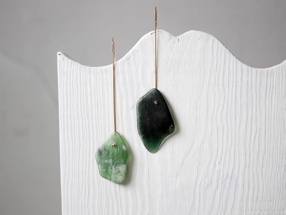 Serpentine Earrings : archive