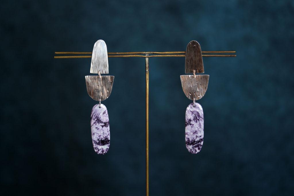 Kammererite Earrings : archives