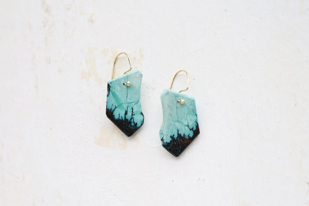 Turquoise Earrings : archive