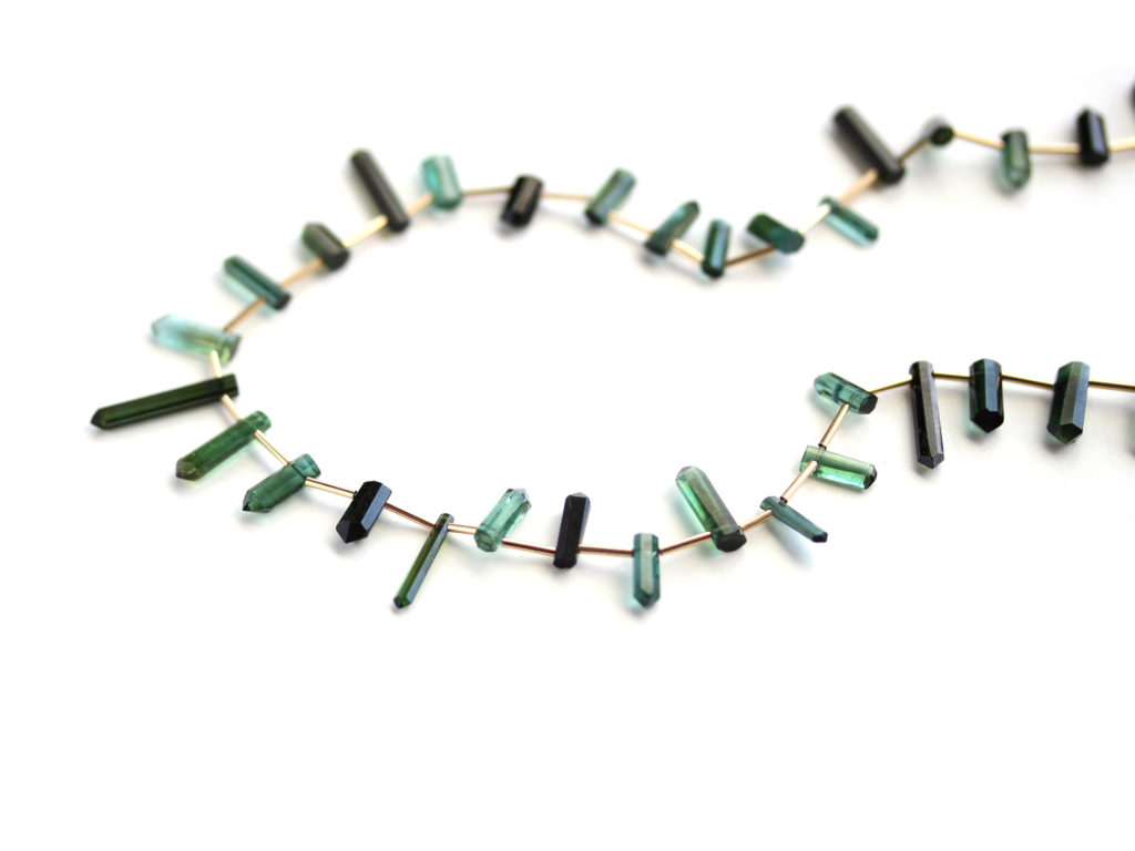 Green Tourmaline Necklace : archive