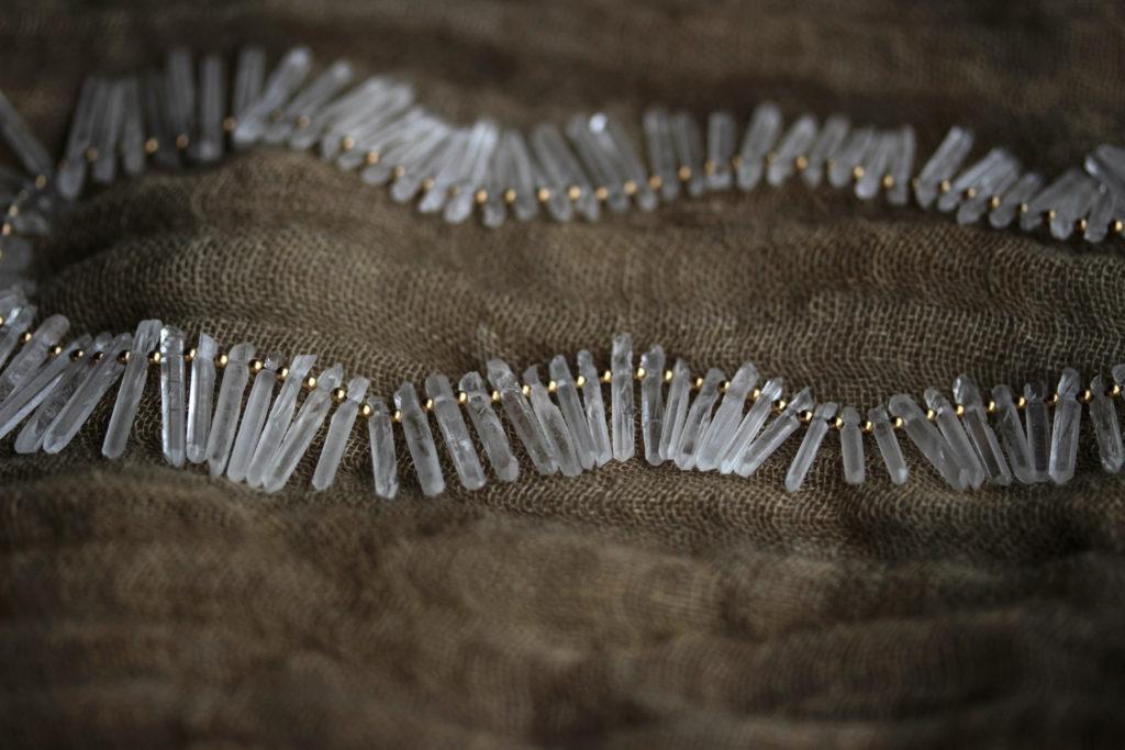 Quartz Point Necklace : archive
