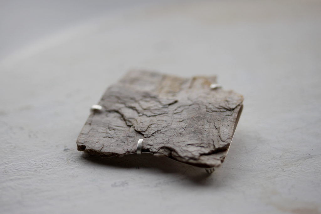 Petrified Wood Brooch : archive
